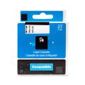 Kompatibilní páska s DYMO 45806 (S0720860), 19mm, černý tisk na modrém podkladu