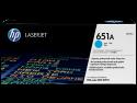 Originální tonerová kazeta HP 651A, HP CE341A (Azurový)