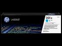 Originální tonerová kazeta HP 201X, HP CF401X (Azurový)