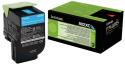 Originální tonerová kazeta Lexmark 80C2XC0 (Azurový)