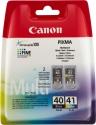 Sada originálních náplní Canon PG-40 a CL-41 (Černá a barevná)