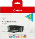 Sada originálních náplní Canon PGI-72 MBk/C/M/Y/R