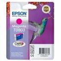 Originální náplň EPSON T0803 (Purpurová)