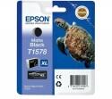Originální náplň EPSON T1578 (Matně černá)