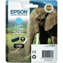 Originální náplň EPSON T2435 (Světle azurová)