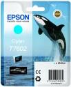 Originální náplň EPSON T7602 (Azurová)