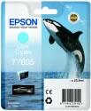 Originální náplň EPSON T7605 (Světle azurová)