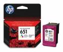 Originální náplň HP 651 (C2P11AE) (Barevná)
