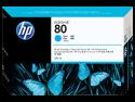 Originální náplň HP č. 80 (C4846A) (Azurová)