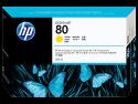 Originální náplň HP č. 80 (C4848A) (Žlutá)