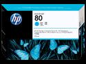 Originální náplň HP č. 80 (C4872A) (Azurová)