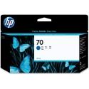 Originální náplň HP č. 70 (C9458A) (Modrá)