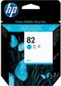 Originální náplň HP č. 82 (CH566A) (Azurová)