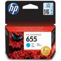 Originální náplň HP č. 655 (CZ110AE) (Azurová)