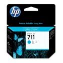 Originální náplň HP č. 711 (CZ130A) (Azurová)