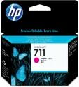 Originální náplň HP č. 711 (CZ131A) (Purpurová)