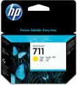 Originální náplň HP č. 711 (CZ132A) (Žlutá)