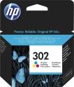 Originální náplň HP 302 (F6U65A) (Barevná)