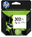 Originální náplň HP 302XL (F6U67A) (Barevná)