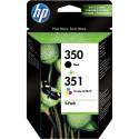 Sada originálních náplní HP č. 350 a 351 (SD412EE)