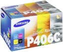Originální tonerová kazetay Samsung CLT-P406C (Černý + barevné) multipack