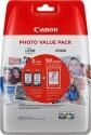 Sada originálních náplní Canon PG-545XL+CL-546XL (Černá a barevná) + fotopapír