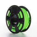 Tisková struna ABS pro 3D tiskárny, 1,75mm, 1kg, fluorescenční zelená